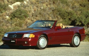 1991 Mercedes-Benz Convertible. Oh-la-la!
