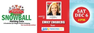 Emcee, Emily Engberg from TCL will be in site!