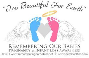 Remebering the babies we've lost.