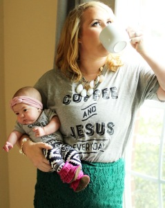 Mommy and Me, Headband: TurbansForTots, Shirts: Henry_Darling, Leggings: Beanie.Baby, Boots: GraciousMay